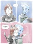 Catpard and Liara by tilhe