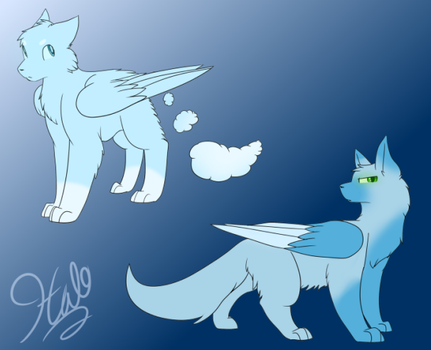 Siblings - adopts I bought that look like Halo by TheStarsRedemption