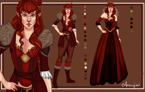 Ryder design sheet by Amaryia