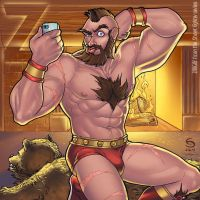 Z is for Zangief by cirgy