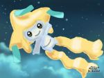 Moonlight Jirachi by Shining-Aura