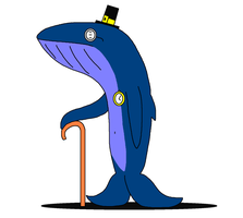 Tipton the Gentlewhale by theblooman