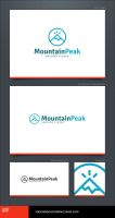Mountain Peak Logo Template by LogoSpot
