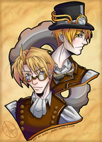 USUK - Steamers by Ahr0