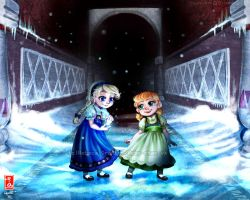 FROZEN -Do you want to build a snowman? by Rebe-chan-vk