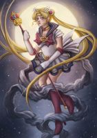 Sailor Moon by Krikin