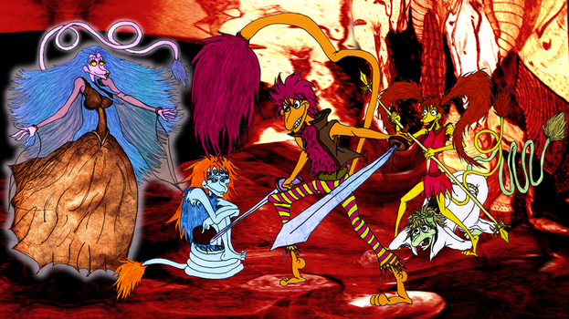 If Fraggle Rock was re-made today... by EvalRedEye