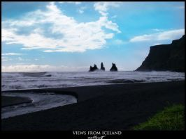 views from Iceland - the sea by JoannaGebka