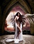 Angel Of Salvation by Fae-Melie-Melusine