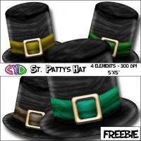 St. Patty's Hat Freebie by only1crisana