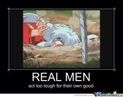 Real Men by InuyashaObsessed