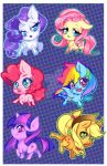 MLP Stickers by Patchiiri