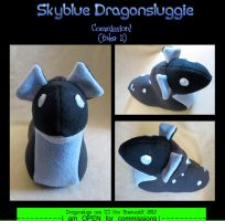 Commission: Sky take 2 by SPPlushies