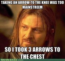 Funny boromir by earthly666