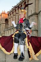 Pandora Hearts - Oz in Wonderland : which way by Bunnymoon-Cosplay