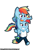 Rainbow Adventures!! by NolyCS