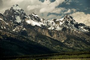 Grand Tetons by Corvidae65