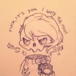 Fuck, it's you I hate the most by cattuccino