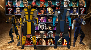 Scorpion and Sub-Zero V.2 (MKA outfits) by AppokalipsSurvivor