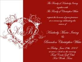 White Wedding Invitation by divineattack
