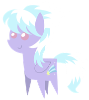 Cloudchaser chibi by DragonGirl983