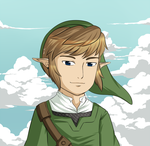 Skyward Sword: The Guy of the Sky by Icy-Snowflakes