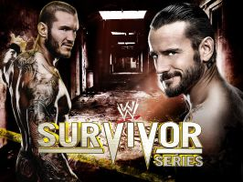 WWE Survivor Series Poster 1 by deviantfafnir