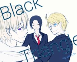 Black Triangle (Russia,China and America) by ChinChuan