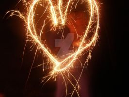 Playing with Sparklers 3 by shenny-lee