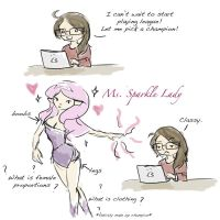 LoL: League of Ladies by EmpatheticFrog
