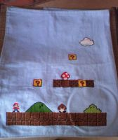 Huge Mario Cross Stitch WIP 2 by sgoheen06