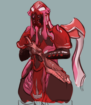 Warframe Doodle by OverlordPatsy