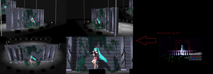 NEW MMD LIVE STAGE by MMDxZURC