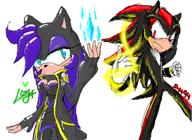 Sugae and Shadow Paint chat by Lizy21