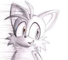 Tails sketch by shiroiwolf