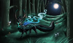 Night Walker by Leafyful