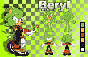 ::Reference:: Beryl the Tenrec by Jewel-Shapeshifter