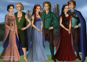 Queens and Kings from the Land and the Sea by taytay20903040