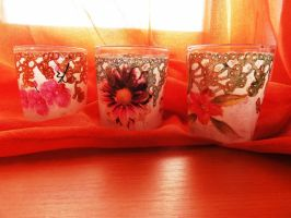 Glasses decoupage by naraosart