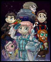 Commander Holly  and Friends by yoshiunity