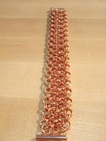Chainmaille pieces by montanaflash23