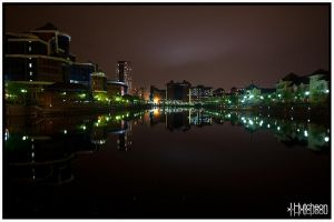 Salford Quays Over The Water by jhutcheon
