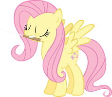 Conductorshy, Fluttershy the conductor by BakaBrony