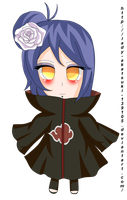 commission: chibi Konan by lady-akatsuki-139105