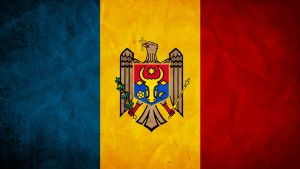 Moldova Grunge Flag by SyNDiKaTa-NP