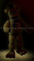 FNAF 2 Golden Freddy by EverythingAnimations