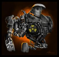 Cain -  the junky robot by highdarktemplar