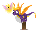 Spyro -Available on Redbubble- by AzuL-J