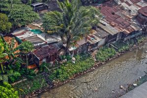 Local Houses by the River by Daffie-Mike