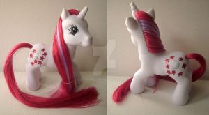 My little Pony Custom G3 Moondancer by BerryMouse